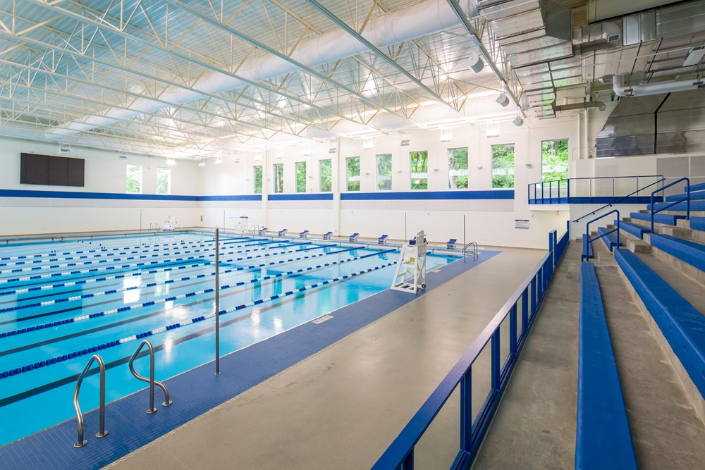 Opus Constructs Aquatics Center At Luther College The Opus Group