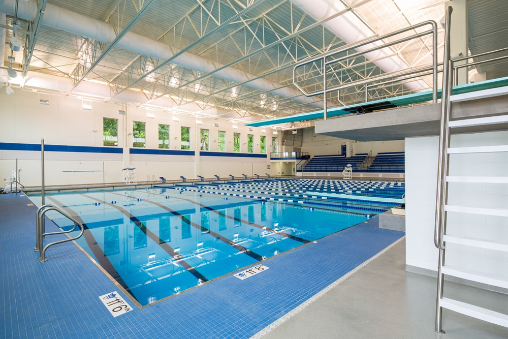 Opus Completes Aquatic Center At Luther College The Opus Group