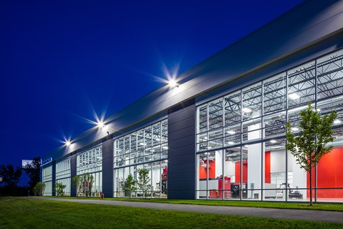 MC Machinery Systems' new headquarters and showroom by Opus