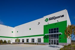 Maxzone Vehicle Lighting Corporation is a warehouse distribution center build by Opus Design Build.