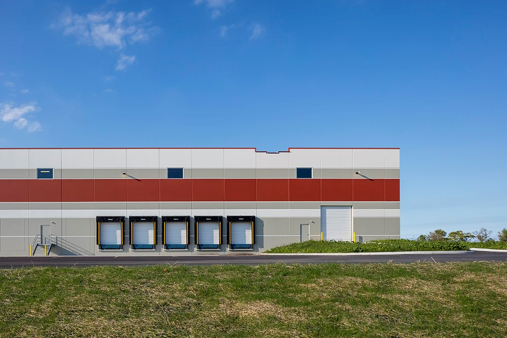 Spec industrial development in Milwaukee