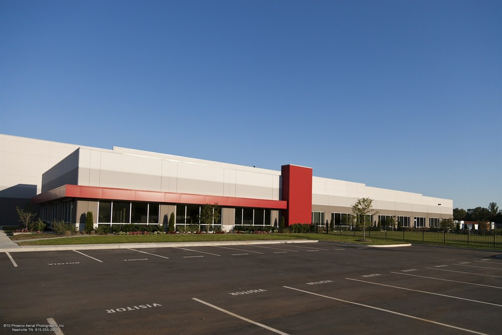 Nissan, Nissan parts, industrial construction, distribution center construction