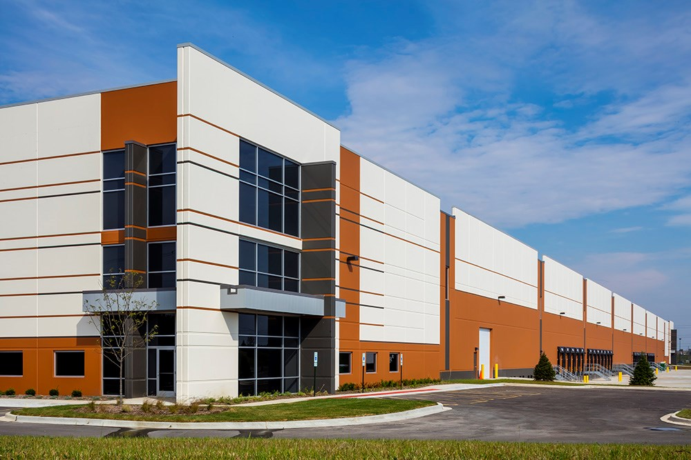 Spec industrial development in Chicago