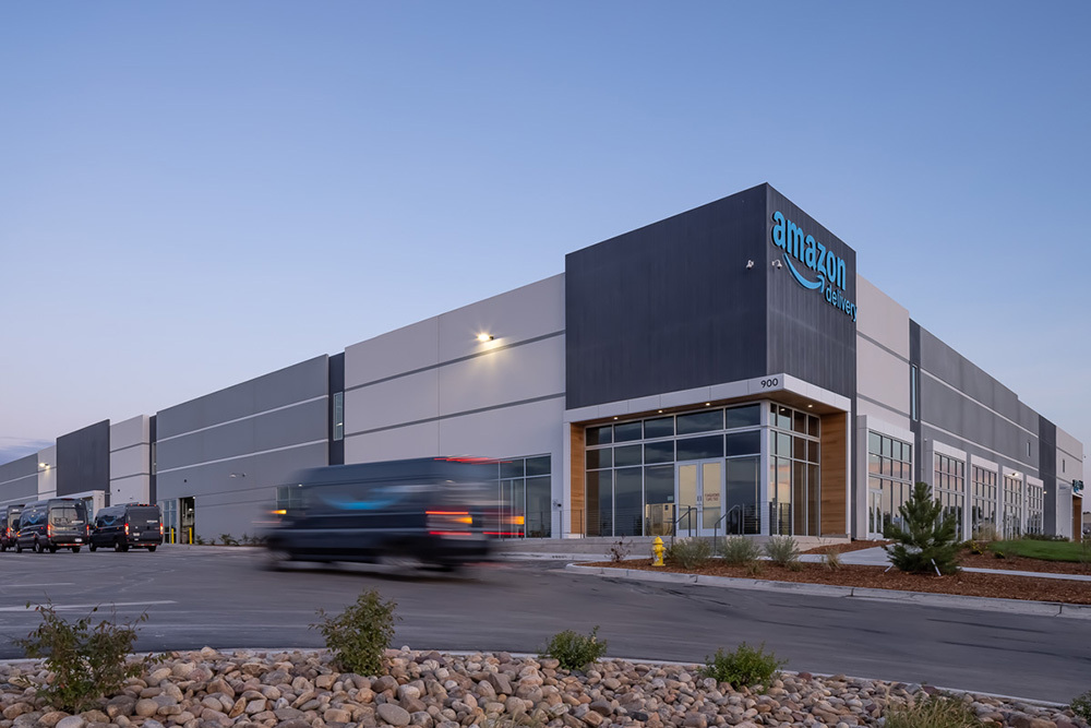 Opus' North Washington Commerce Center industrial development in Thornton, Colorado (Denver)
