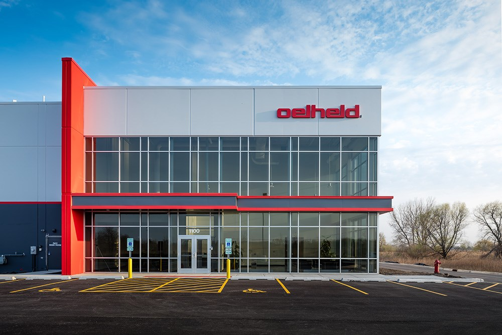oelheld U.S., Inc. headquarters office and warehouse facility by Opus