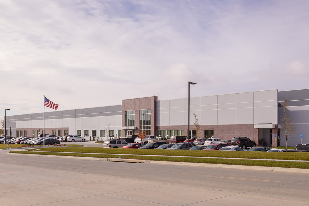Omaha Box Company Heavy Manufacturing Build to Suit in Papillion, Nebraska