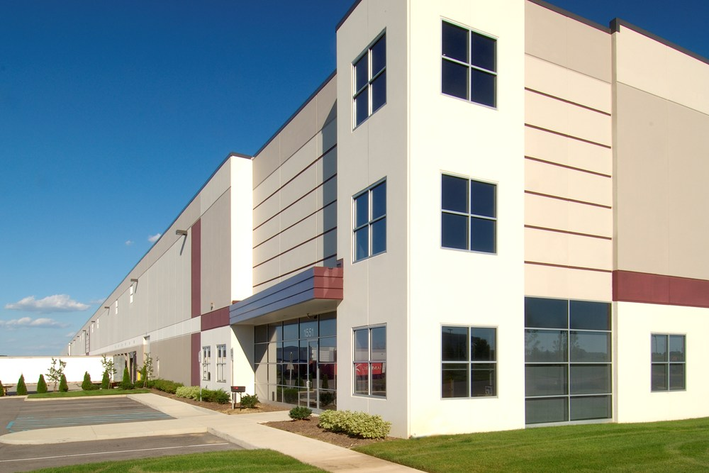 Opus Business Center at Rickenbacker, industrial construction