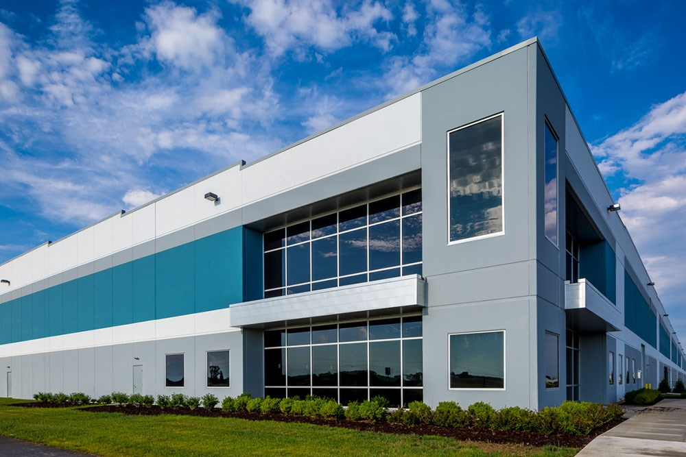 Rickenbacker warehouse distribution center the opus group for Industrial design company