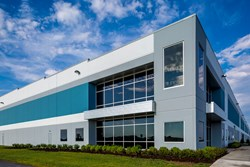 Rickenbacker industrial warehouse facility by Opus Development Company