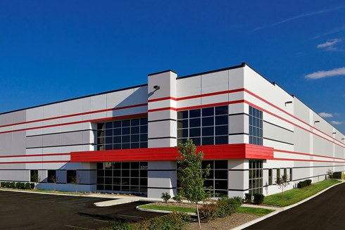 Plainfield Business Center at Airwest is a multi-building industrial park built by Opus.