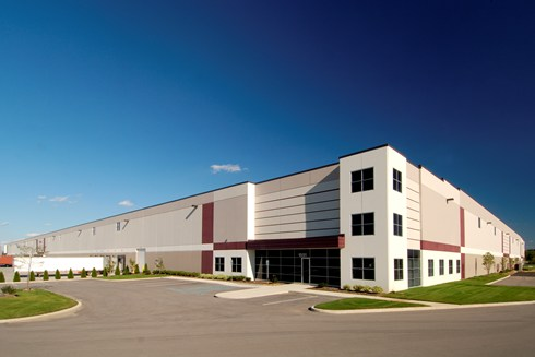 Plainfield Business Center at Airwest is a multi-building industrial park constructed by Opus.
