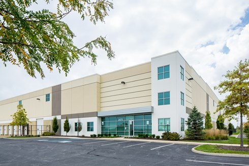 Plainfield Business Center at Airwest is a multi-building industrial park developed by Opus.