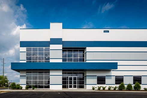 Airwest industrial facility by Opus Design Build