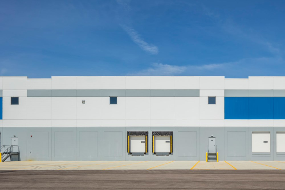 Cincinnati industrial warehouse development by Opus
