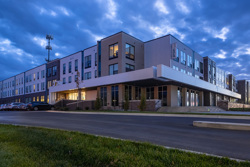 Proxi Lawrence Student Living Development exterior