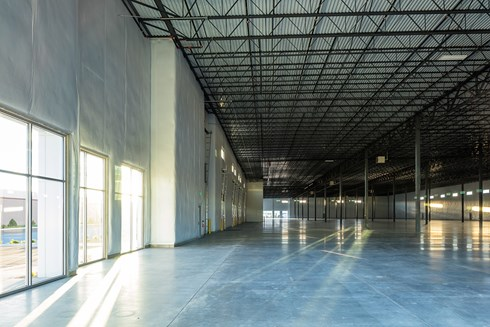 Rangeview Industrial Center, a speculative warehouse development, by Opus