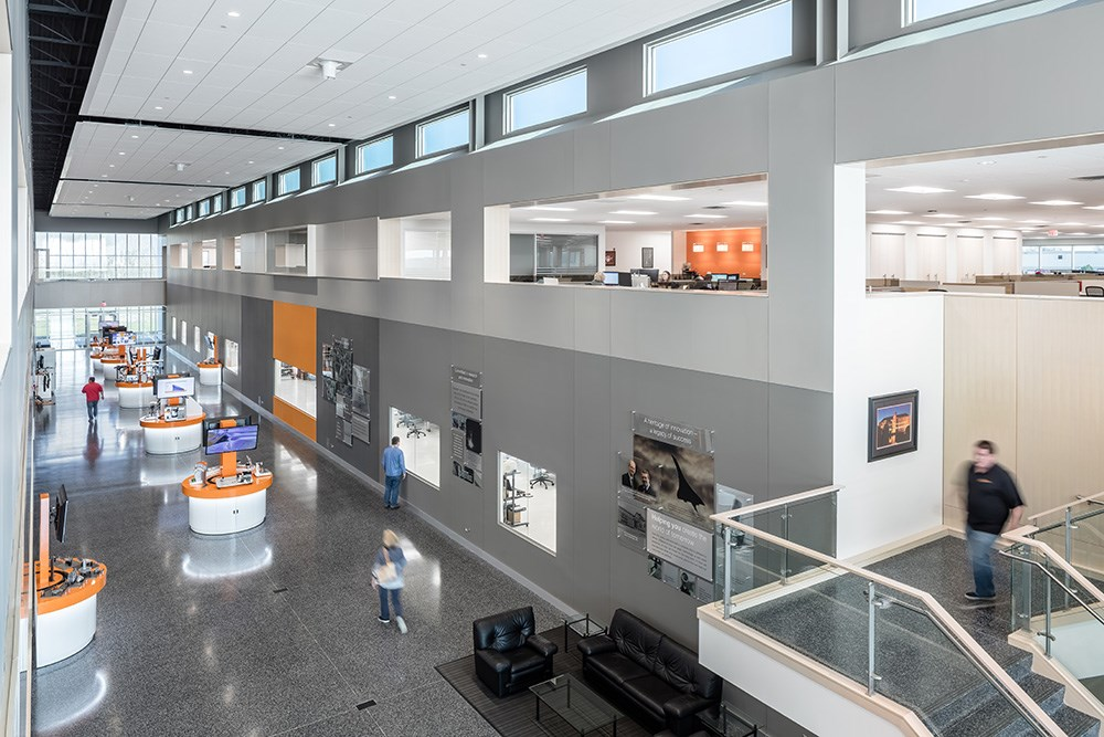 Renishaw North American headquarters by Opus