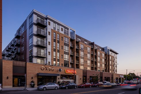 Oxbō Luxury Mixed-Use Development