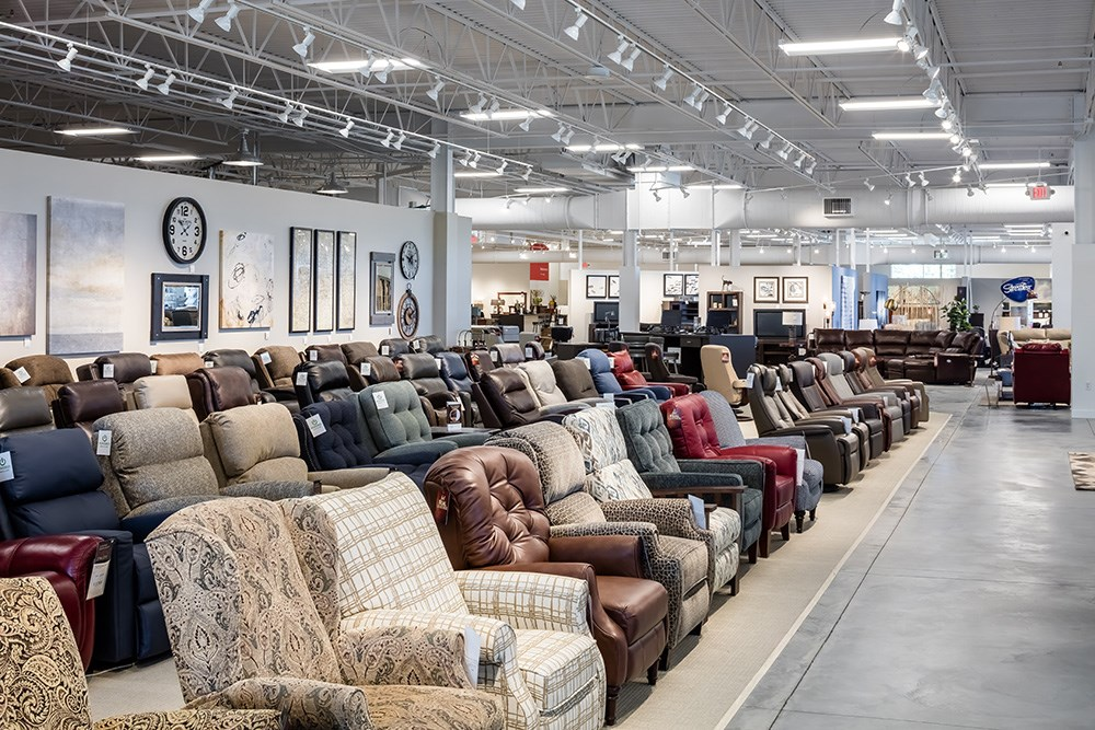 Schneiderman's Furniture's newest store in Lakeville, Minn.