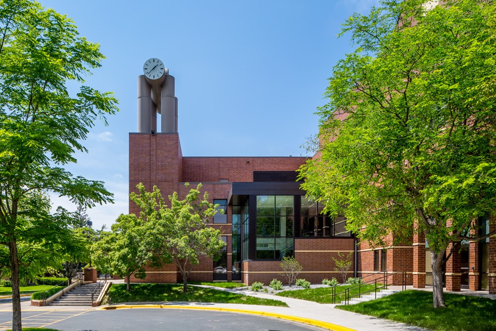 Exterior of St. Kate's University Butler and Fontbonne