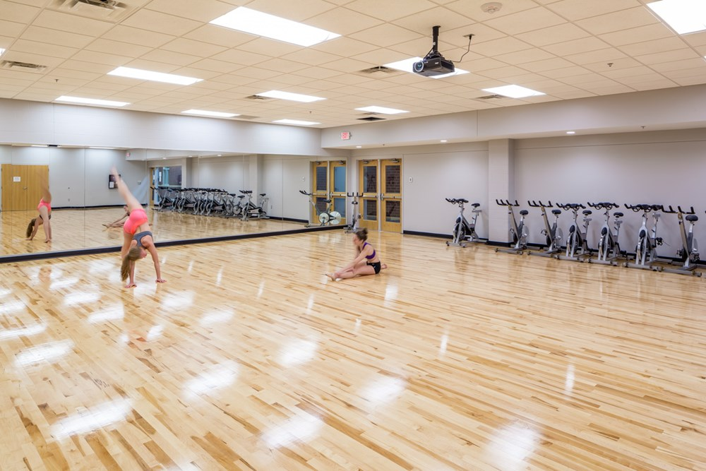 Dance studio St. Kate's University Fontbonne & Butler