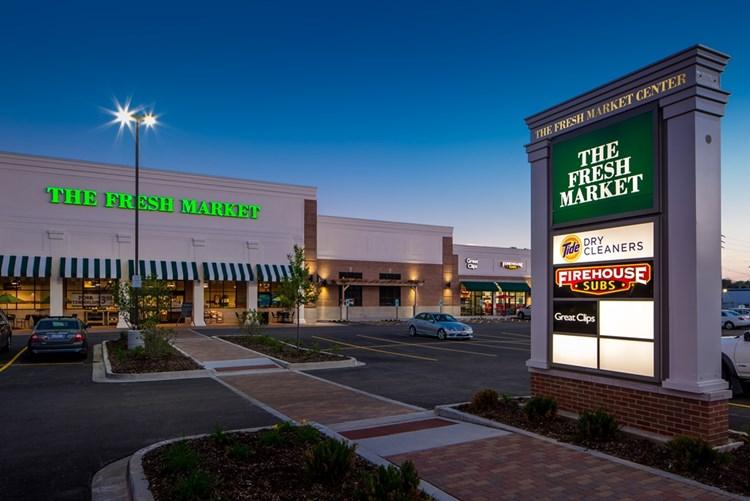 The Fresh Market Center is a retail development in Glen Ellyn 4aa58a5f8a