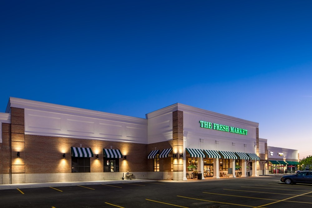 The Fresh Market Center Retail Development The Opus Group