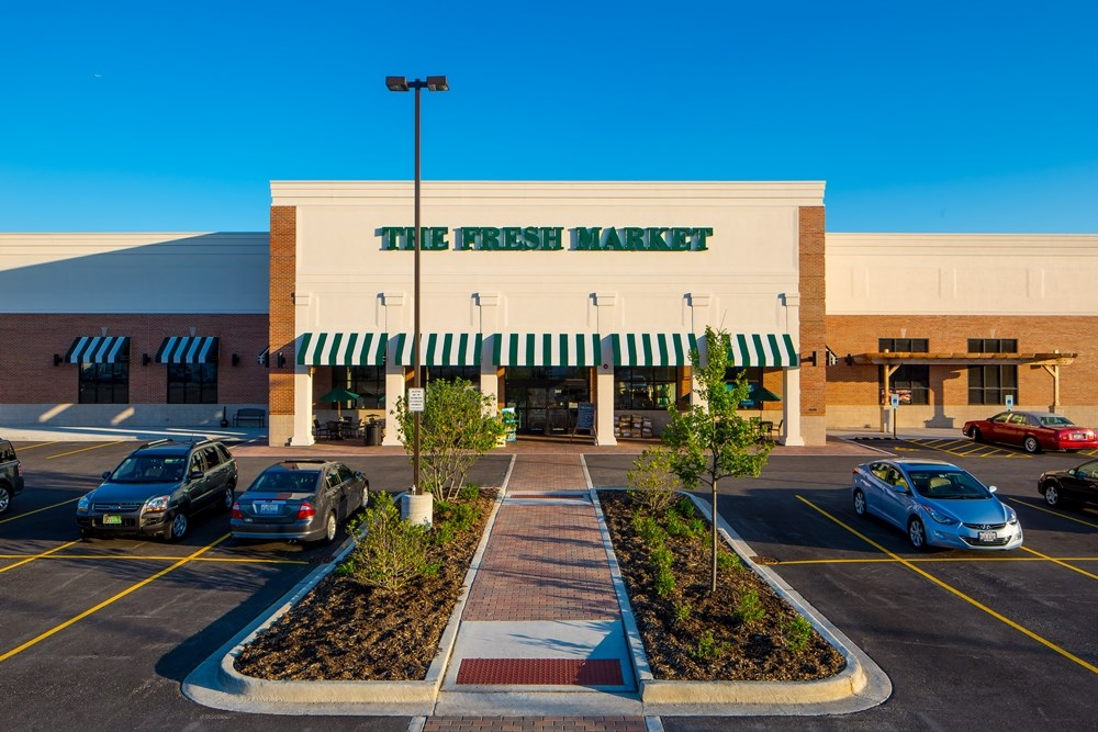 Providing retail options, The Fresh Market fills a need in the Glen Ellyn, Illinois community.