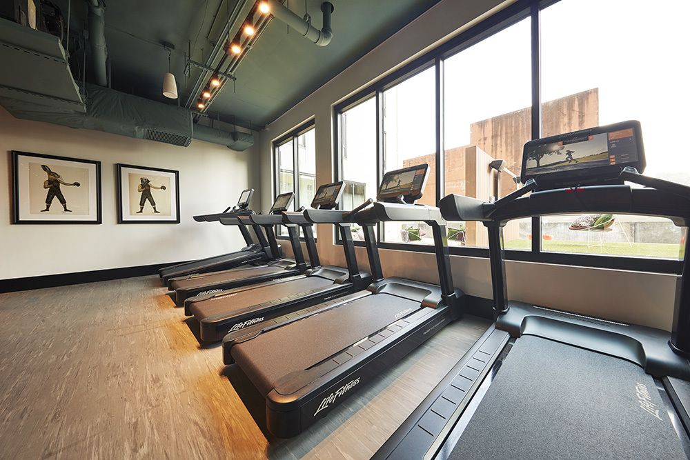 Ascend Five Points South UAB Student Living Development fitness center