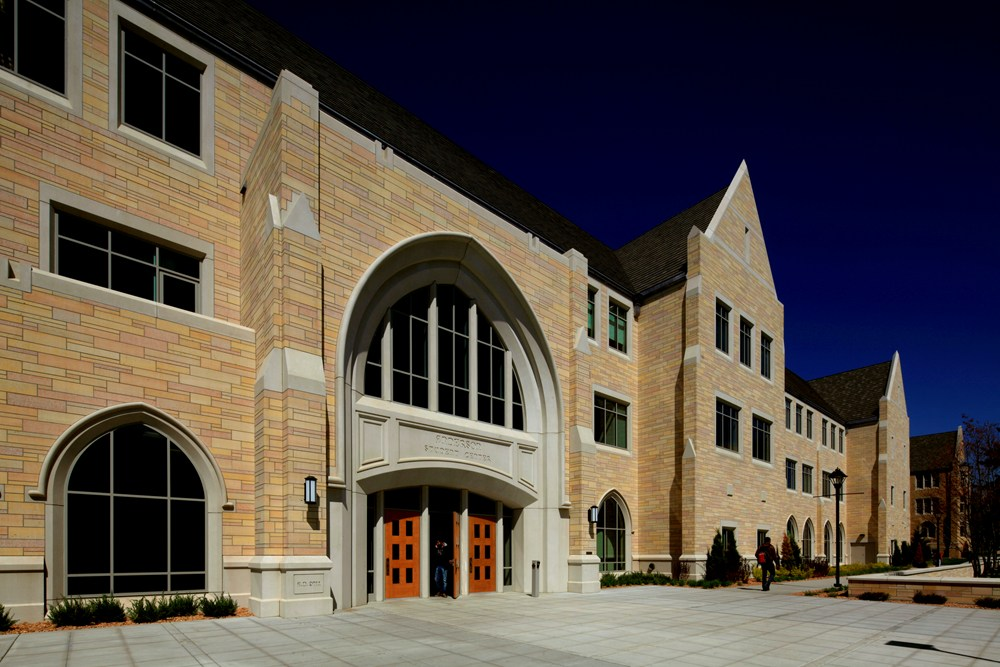 University of St. Thomas Anderson Student Center, University of St. Thomas, institutional construction