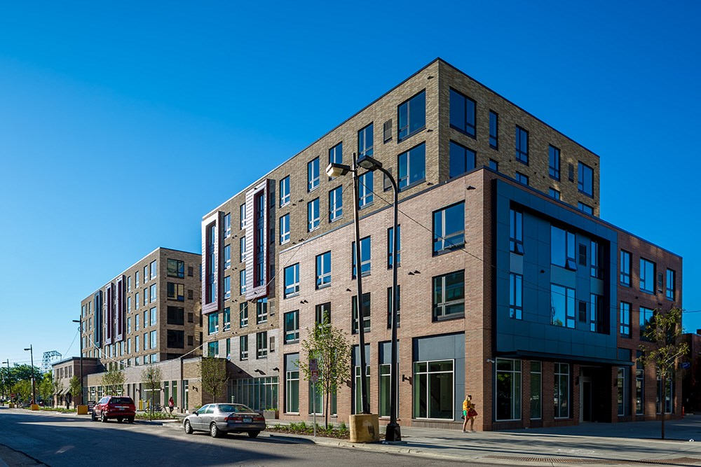 Venue at dinkytown student housing development the for Housing construction companies