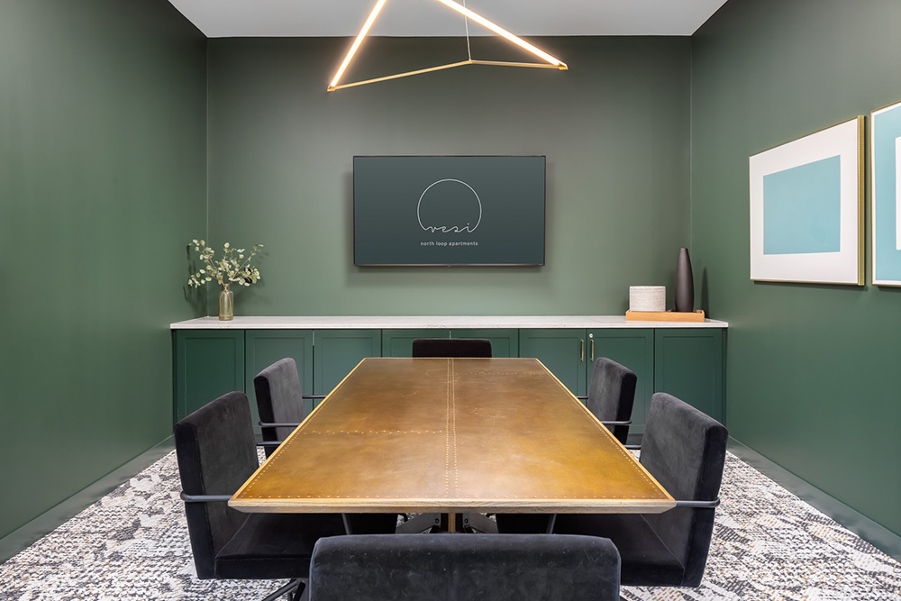 conference room amenity in Vesi apartment development