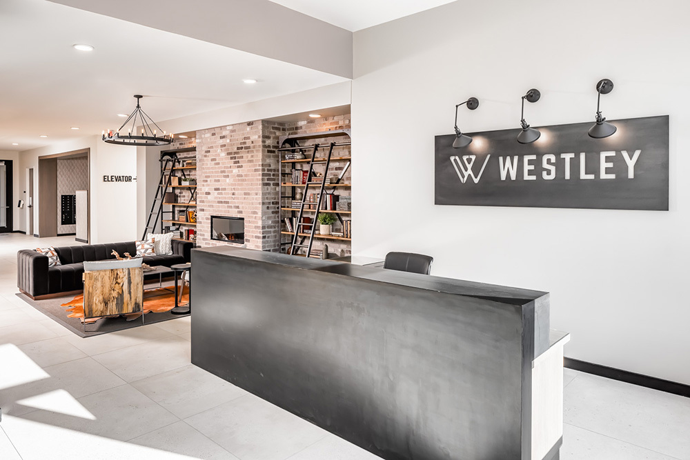 Westley on Broadway Apartment lobby